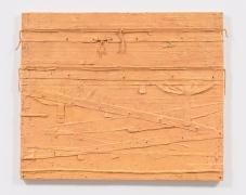 Harmony Hammond, Fraggle, 2014, Oil and mixed media on canvas