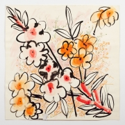 """Untitled, from the """"Florals"""" series [023], n.d., Watercolor On Paper"""