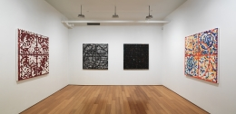 Jack Whitten, Installation view, Alexander Gray Associates, 2007