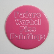 J'adore Warhol Piss Paintings (2006)