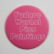 J'adore Warhol Piss Paintings (2006)