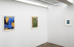 Betty Parsons: 1950s Works on Paper, Installation view