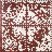 E-Stamp III (Red Velvet: For Marcia Tucker), 2007, Acrylic on Canvas
