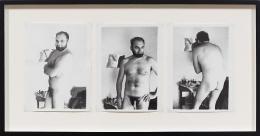 Rovinj-Summer (1975) Silver gelatin prints in 3 parts (unique)
