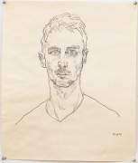 Self Portrait, 1991, Graphite on paper