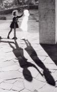 Hans-Peter Feldmann, Two Girls with Shadow, 2004, Silver gelatin print