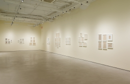 Sergei Eisenstein, installation view, Alexander Gray Associates (2017)
