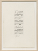 One to Thirteen, 2008, Ink and pencil on paper
