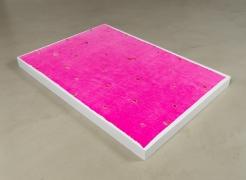 Polly Apfelbaum, Still Life: Pink on Pink, 1997