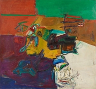 Perfil infinito, 1966, Oil on linen