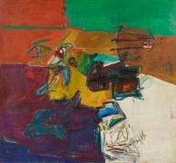 Perfil infinito, 1966, Oil on linen
