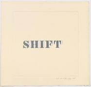 Luis Camnitzer; Shift (1968)