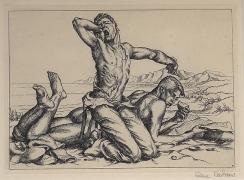 Paul Cadmus, Two Boys on a Beach No. 1 (1938)