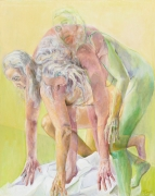 Triple Play, 2011, Oil on canvas