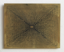 Sun, 1975–1978 Photo etching on brass