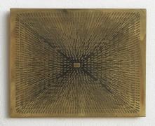 Sun, 1975–1978 Photo etching on brass