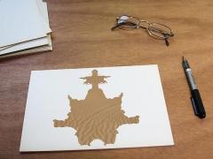 Luis Camnitzer; Rorschach Series, Rorschach 6 (2012)