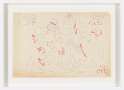 Untitled (1943) Colored pencil on paper
