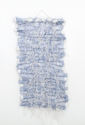 Hassan Sharif,Rug, Cotton Rope, and Glue, 2013, Mixed media