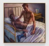 Hospital Bed, 1993, Oil on canvas