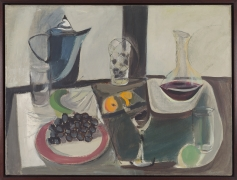 Untitled (Still Life with Blue Pitcher and Grapes), 1946, Oil on canvas