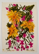 """Untitled, from the """"Florals"""" series [060], n.d., Watercolor On Paper"""