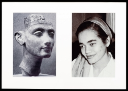 Miscegenated Family Album (Young Queens), L: Nefertiti, age 24; R: Devonia, age 24, 1980/1994, Cibachrome prints, 26h x 37w in (66.04h x 93.98w cm)