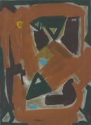 Sputnik,1961 Oil on canvas