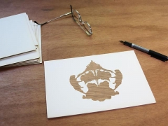 Luis Camnitzer; Rorschach Series, Rorschach 8 (2012)