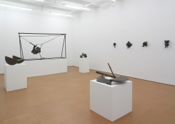 Melvin Edwards: Sculptures 1964-2010, Installation view, Alexander Gray Associates, 2010