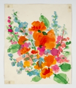"Untitled, from the ""Florals"" series [049], c. 1977, Watercolor On Paper"