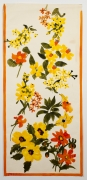 """Country Garden, from the """"Florals"""" series [016], c. 1974, Watercolor On Paper"""