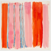 Occasional Stripe, from the Abstractsseries, n.d., Watercolor on paper