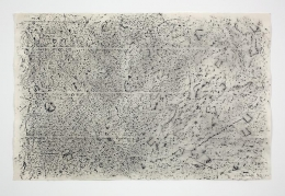 Jack Whitten; Studio Floor #1 (1970)