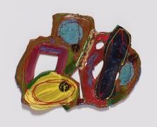 Polly Apfelbaum,Yoko, 2016, Ceramic and glaze