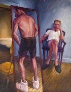 High Tops, 1994, Oil on canvas