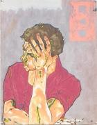 Self Portrait, 1983, Acrylic, ink, graphite, oil pastel on paper