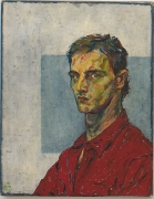 Self Portrait III, 1980, Oil On Canvas