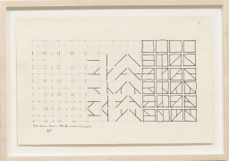 Dots, Lines and Forms, 1984, Ink on paper