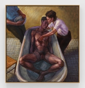 Two Men and a Woman, 1992, Oil on canvas