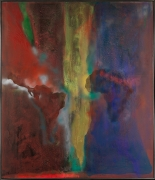 Night Journey, 1969–70 Acrylic on canvas