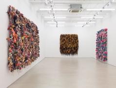 Hassan Sharif, installation view, Alexander Gray Associates, 2016