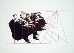 De Artificiali Perspectiva 3, 1976, Silkscreen