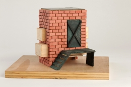 Tomb for Sacco and Vanzetti, 2008, Mixed media