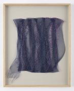 Sheila Hicks, La Foret Bleue I, 2001, Synthetic plaiting, rayon, silk, raffia