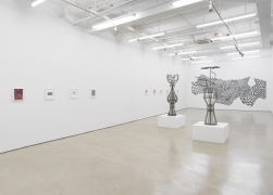 Teresa Burga, Installation view