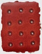 Rims (Dark Red on Light Red) (2011)