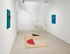 Valeska Soares: Neither Here Nor There,installation view,Alexander Gray Associates (2017)