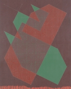 Knight Series #8 (Q3-77 #2), 1977, Oil on canvas