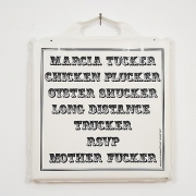 Marcia Tucker Puffy Print (2007)